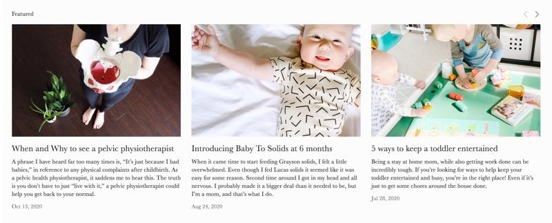 Inspiring mom bloggers - Millennial Motherhood