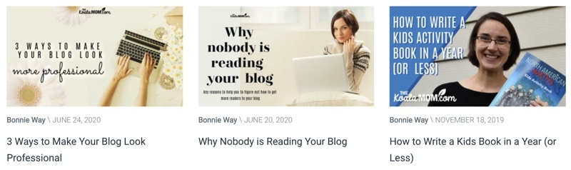 Inpiring mom bloggers - The Koala Mom