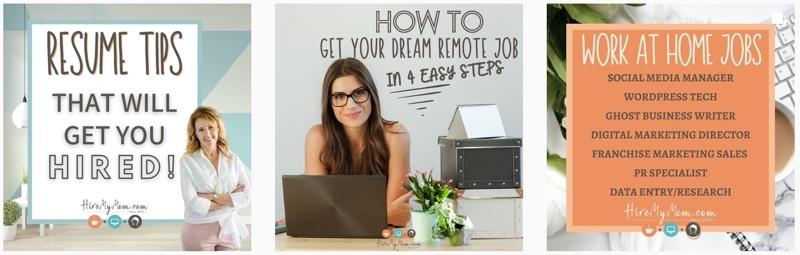 Inspiring mom bloggers - Hire my mom